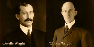 Picture of Orville and Wilbur Wright